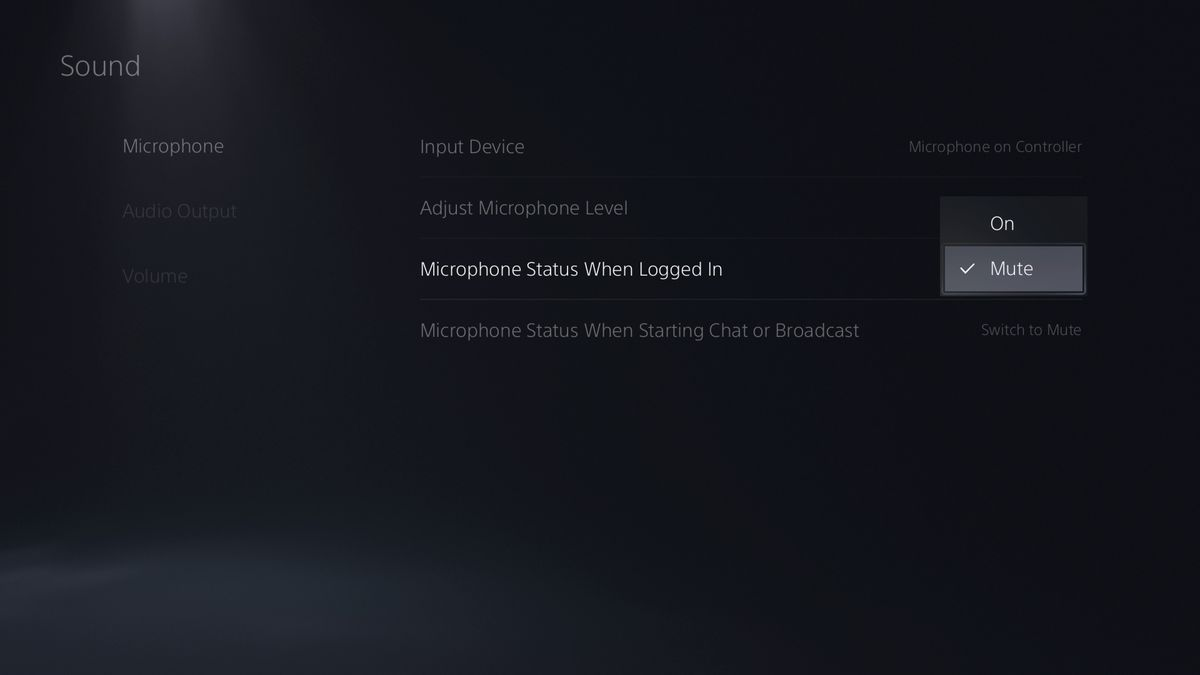 The PlayStation 5 microphone options