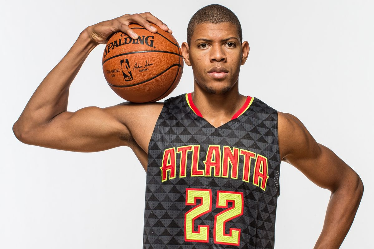 Walter Tavares poses for a photo during the 2015 NBA Rookie Photo Shoot