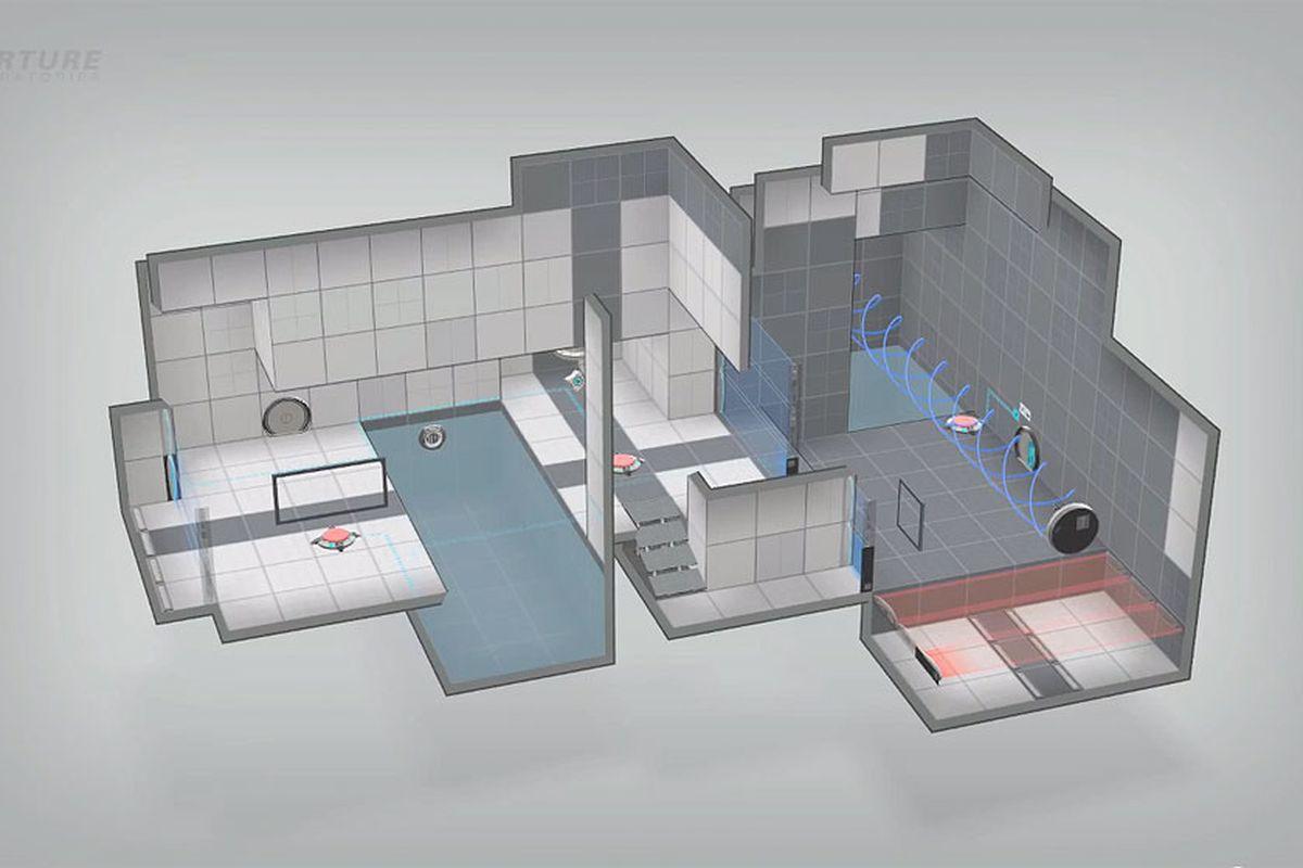 Portal 2 puzzle maker