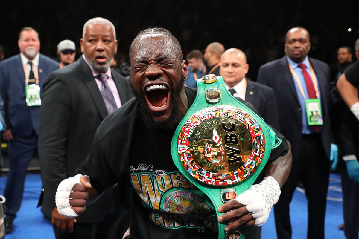 Watch Deontay Wilder Knock Out Dominic Breazeale In First Round