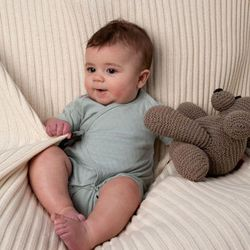"""Buy organic baby clothes from Tane this weekend, and the company <a href=""""http://www.taneorganics.com/blog/2012/04/19/tane-hearts-madison-square-park/"""">will donate</a> 30% of your purchase to the Madison Square Park Conservancy."""