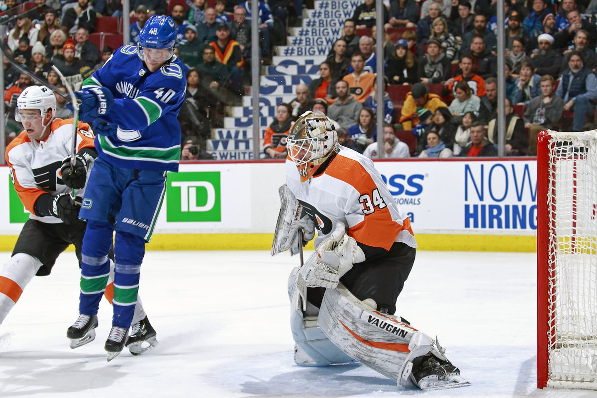 Philadelphia Flyers v Vancouver Canucks