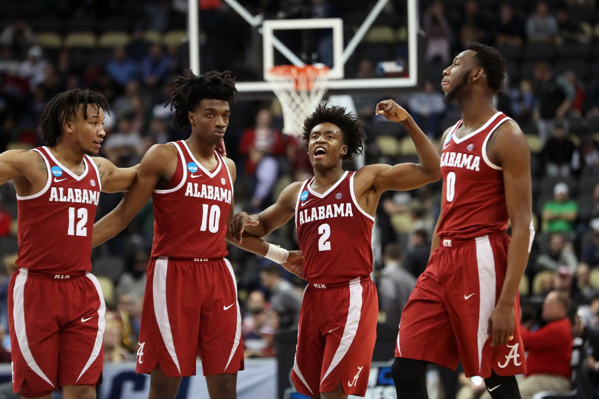 NCAA Tournament Round One: Alabama beats Virginia Tech 86-83