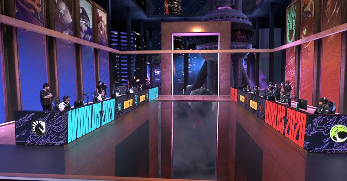 Behind-the-scenes of Riot's 2020 League of Legends World Championship -