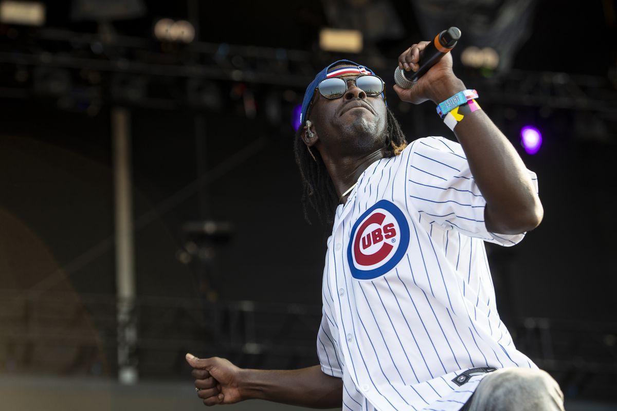 Black Pumas performs at the T-Mobile stage, Thursday.
