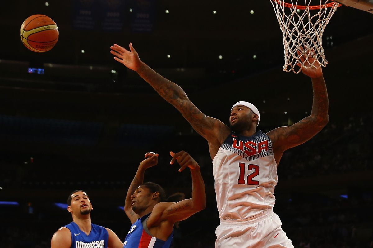 a92e546b5246 DeMarcus Cousins and Rudy Gay make final cut for USA Basketball following  win over Puerto Rico