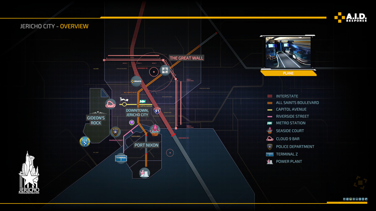 The Surge 2 map
