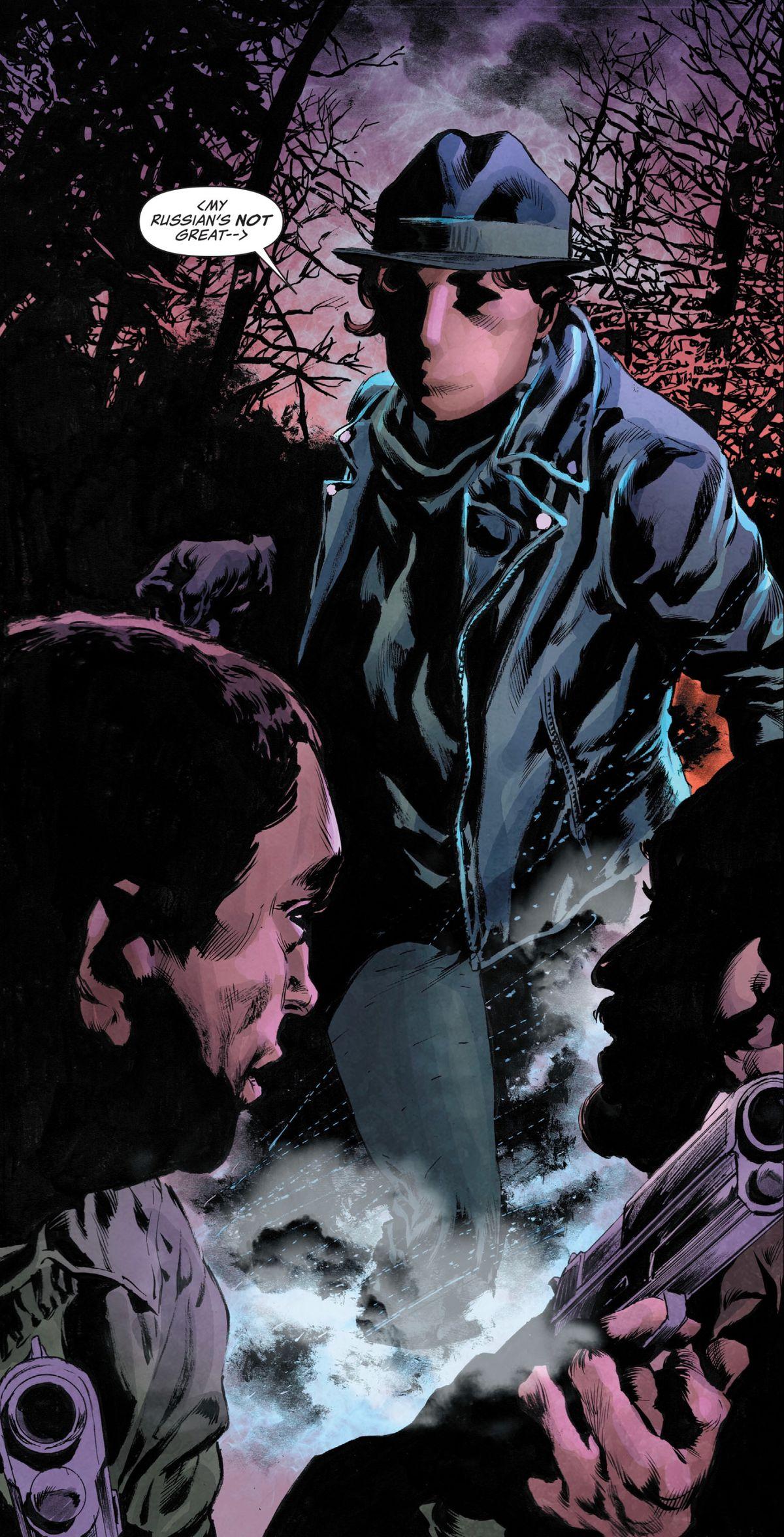 Renee Montoya as the Question in Lois Lane #1, DC Comics (2019).