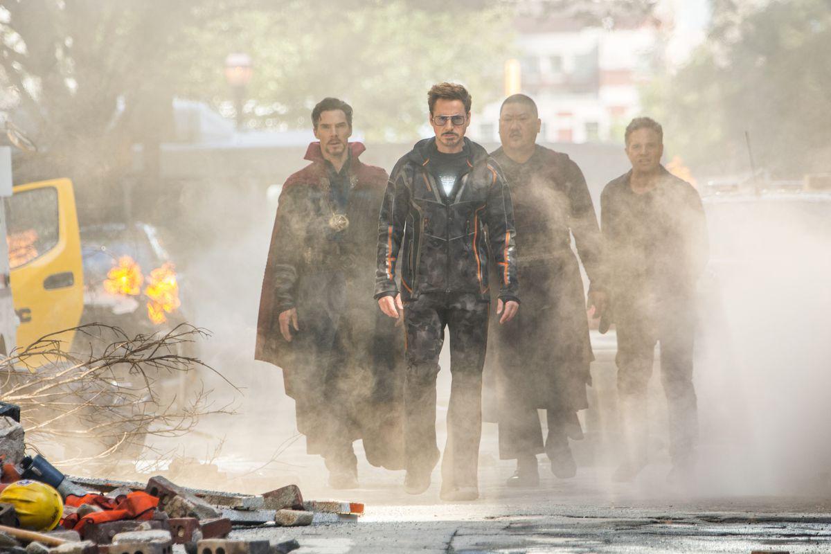 Avengers Infinity War Cast Got Matching Tattooswith Secret