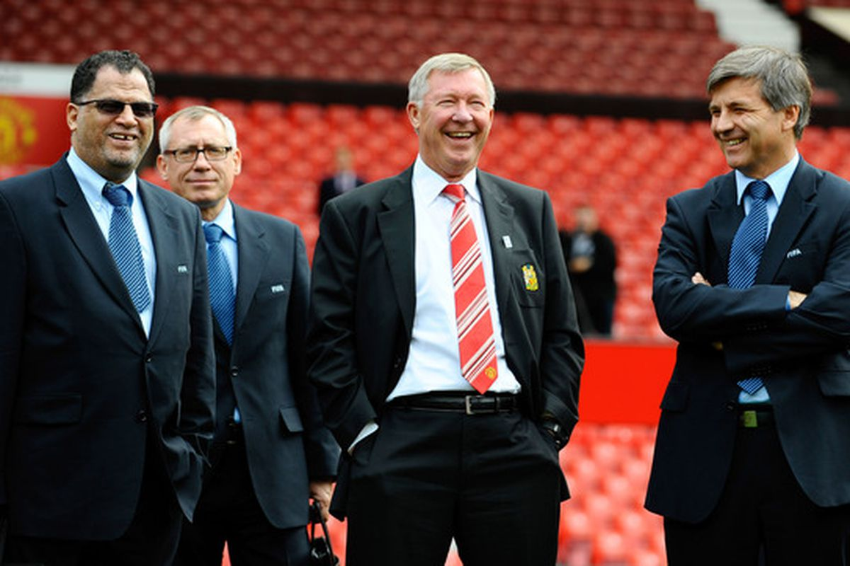 Still laughing, Fergie?  (Photo by Jason Cairnduff-Pool/Getty Images)