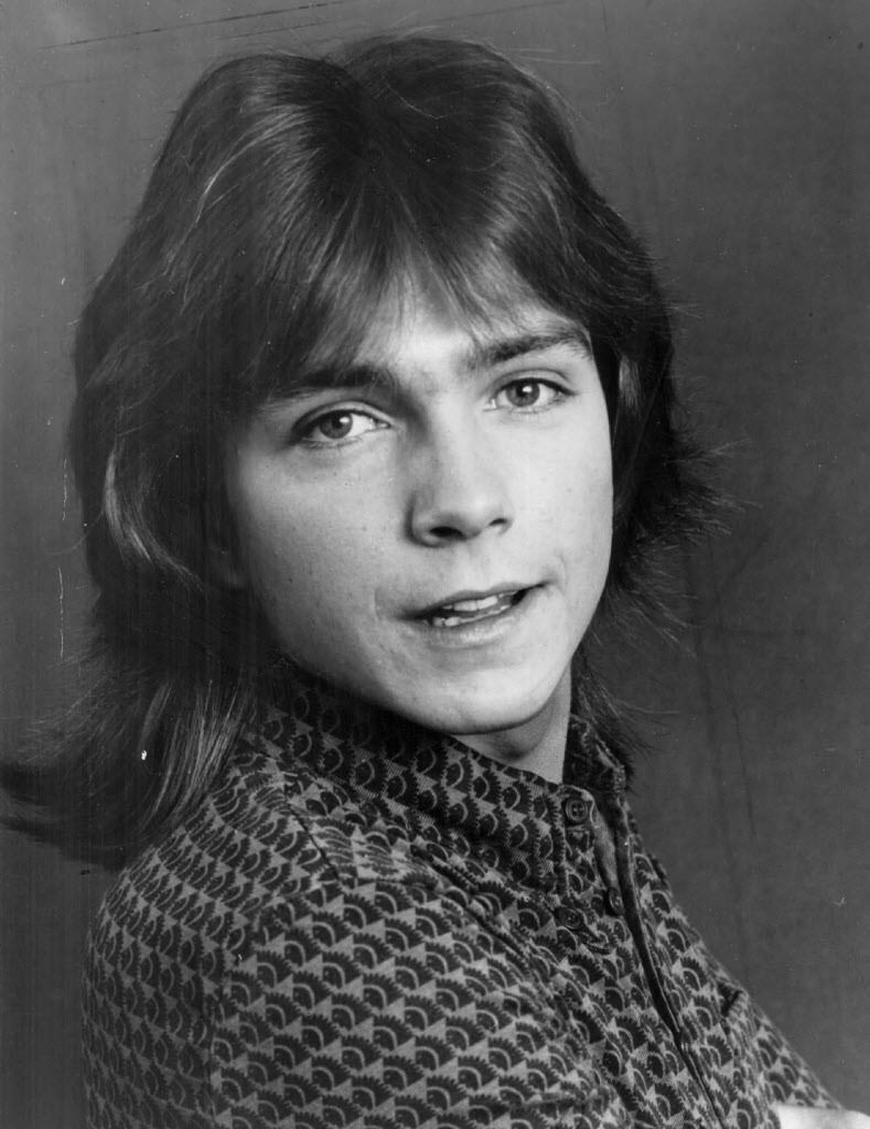 David Cassidy (pictured in 1974)   File photo