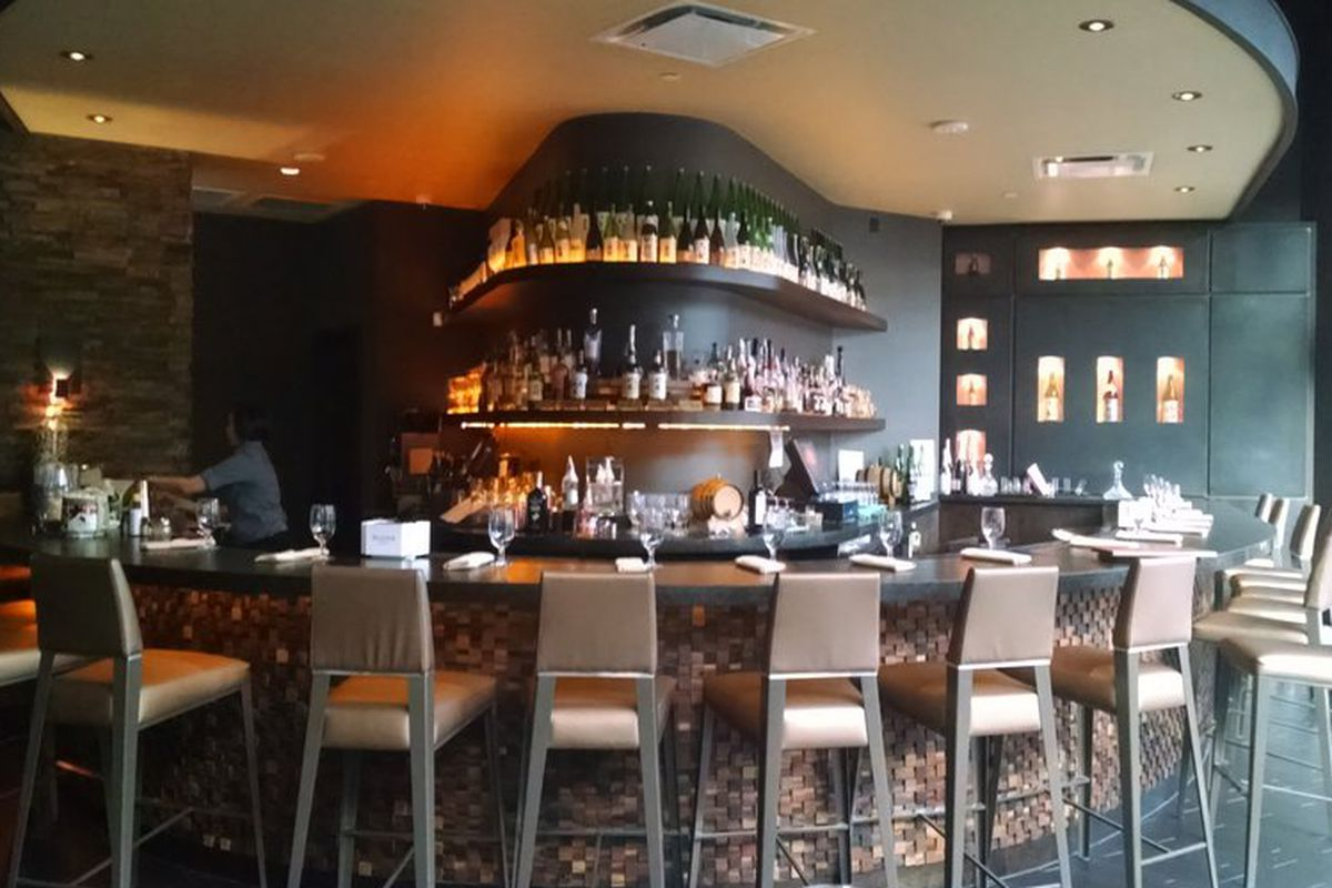 The bar at KUU