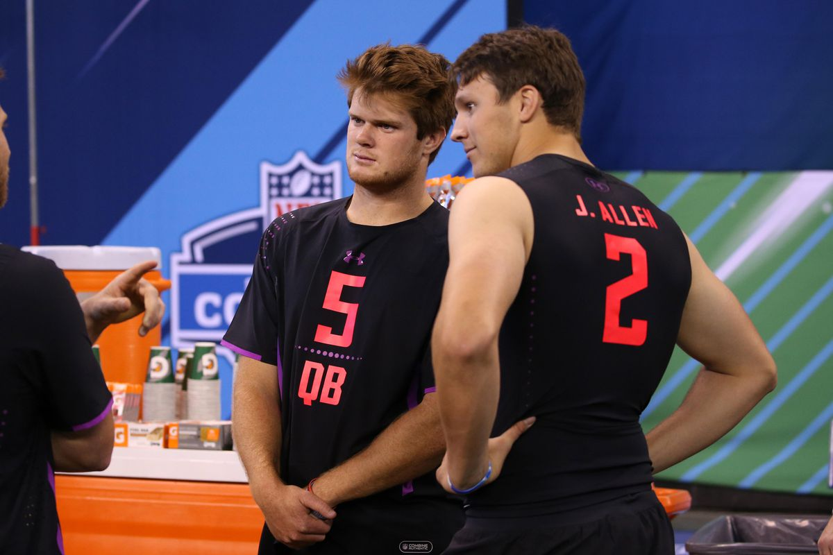 """timeless design a537a 97e87 NFL draft rumors: Browns """"cooling"""" on Sam Darnold, weighing ..."""