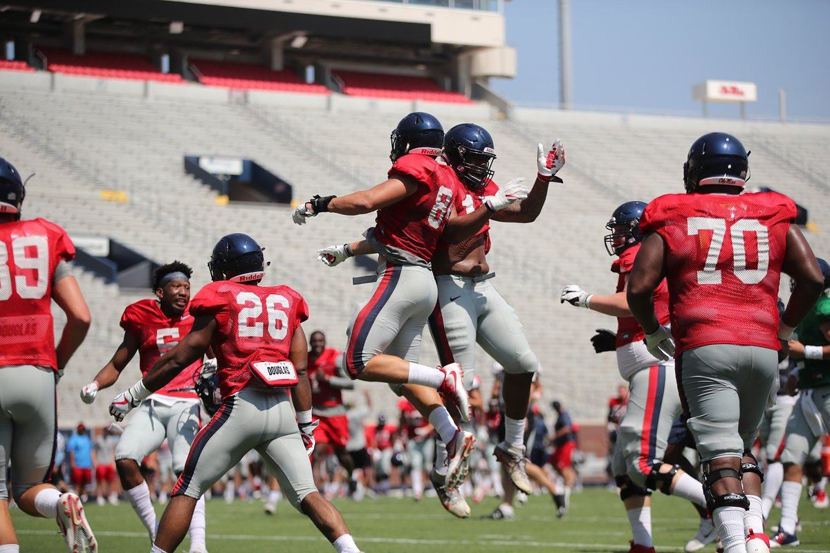 Here S Ole Miss Depth Chart Heading Into The Texas Tech