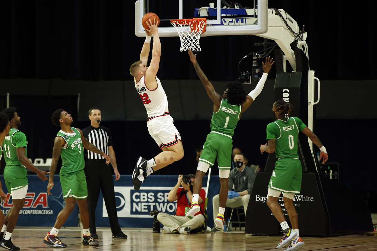 NCAA Basketball: Conference USA Tournament- North Texas vs Western Kentucky