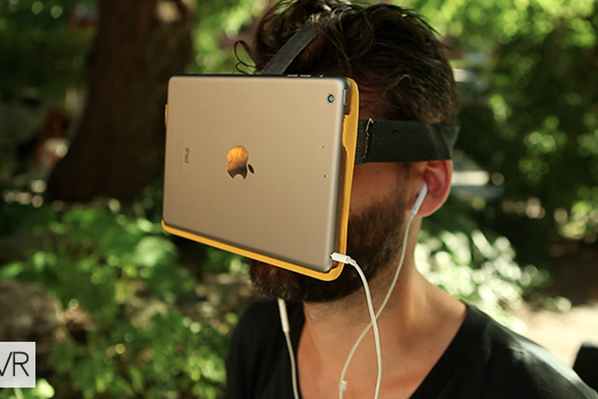 You can now attach your iPad directly to your face to