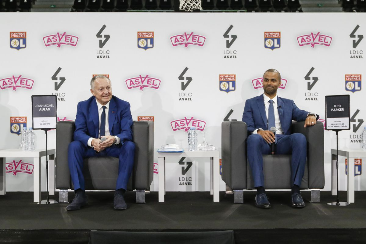 Press conference of Olympique Lyonnais and ASVEL