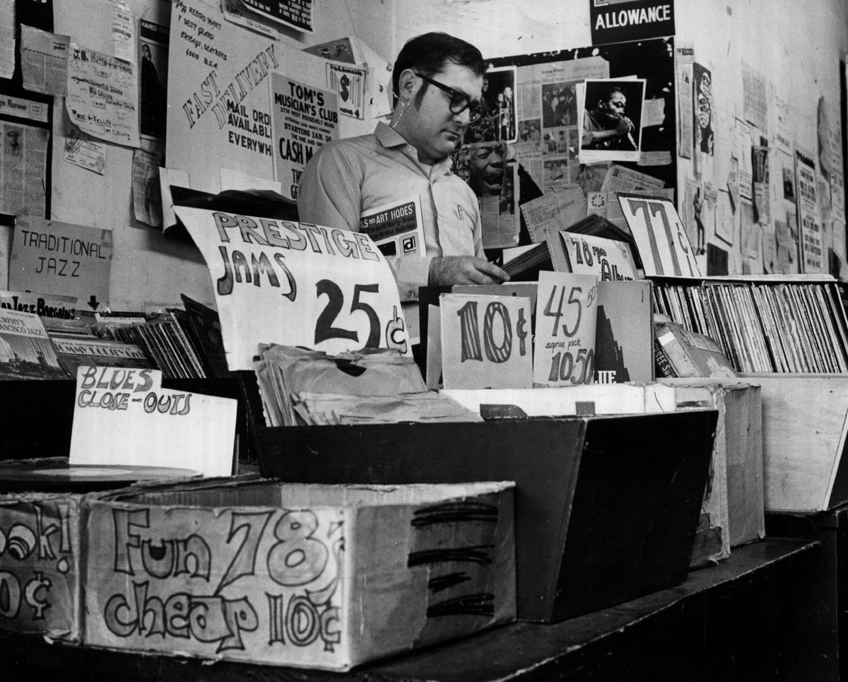 """Bob Koester, proprietor of the Jazz Record Mart and founder of Delmark records, once said, """"I'm not competing with RCA or Columbia."""""""