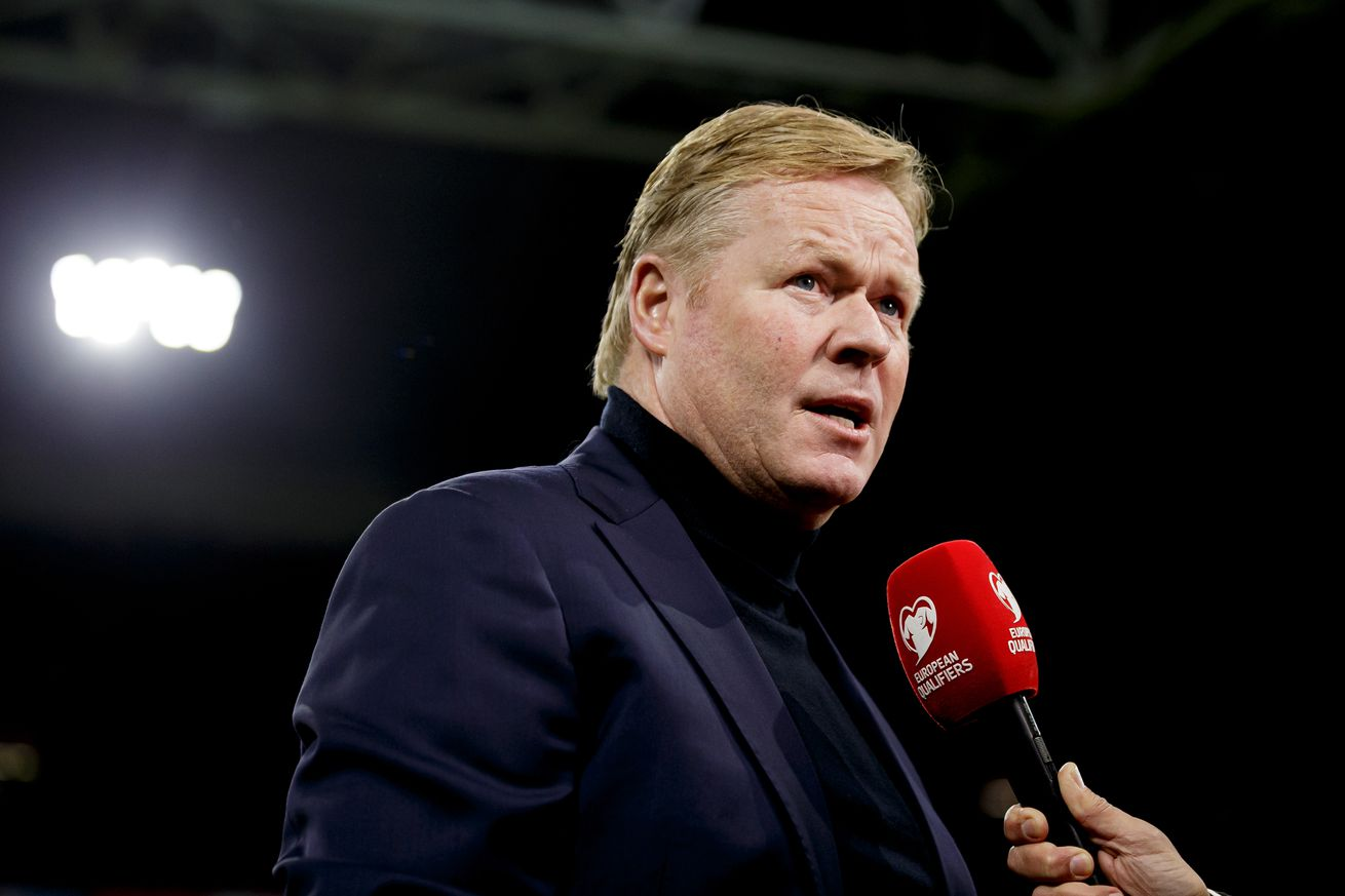 Koeman talks about the Barca job again