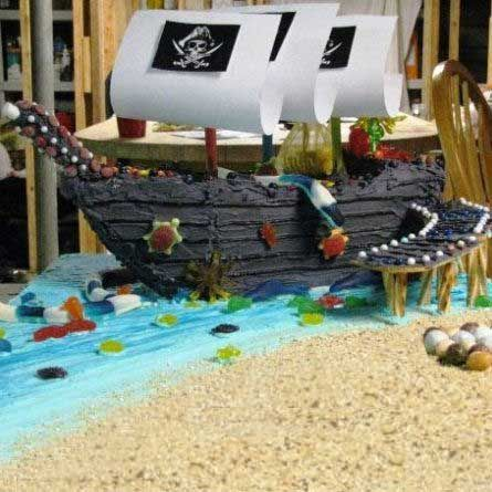 Gingerbread ship.