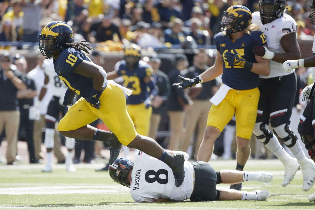 NCAA Football: Cincinnati at Michigan
