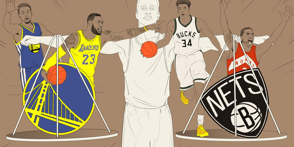 The state of power in the NBA