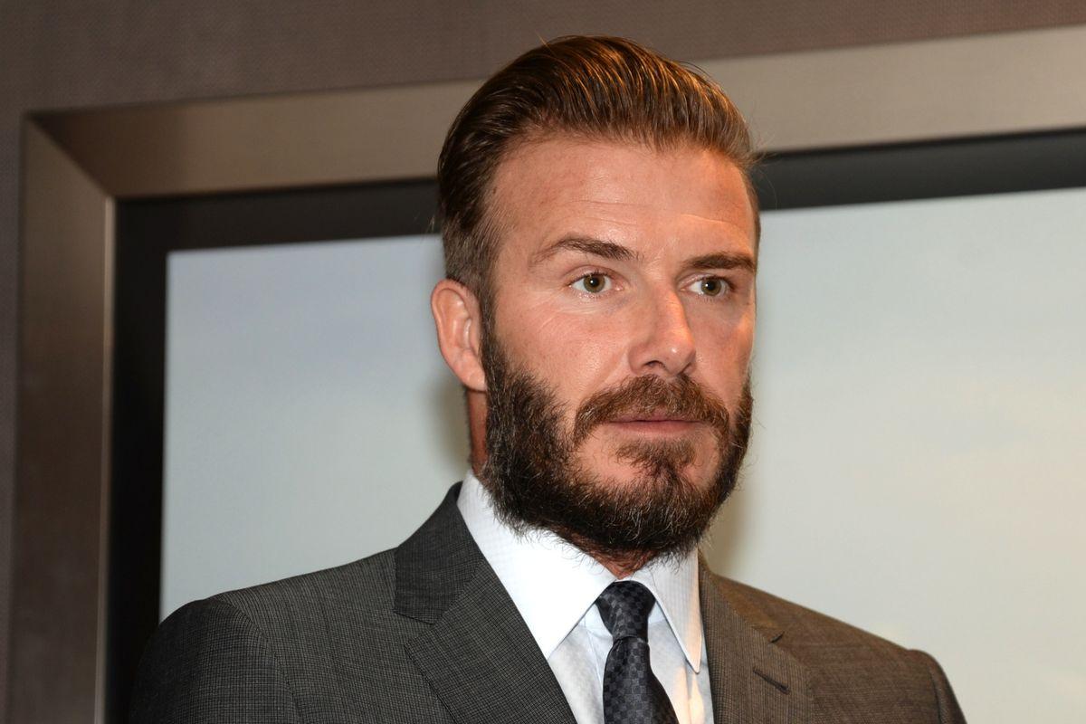 David Beckham Attends Brunch At The Bond