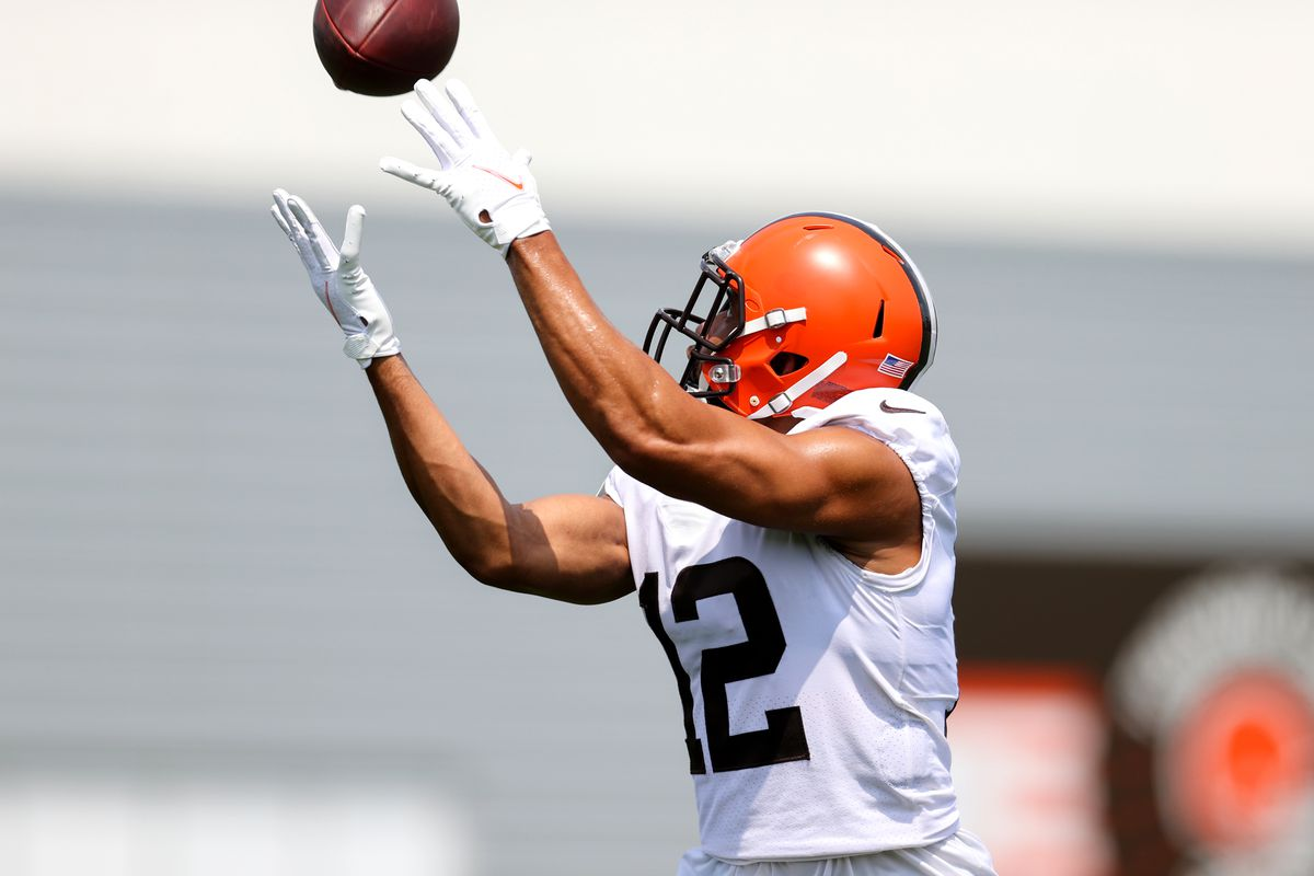 NFL: AUG 07 Cleveland Browns Training Camp