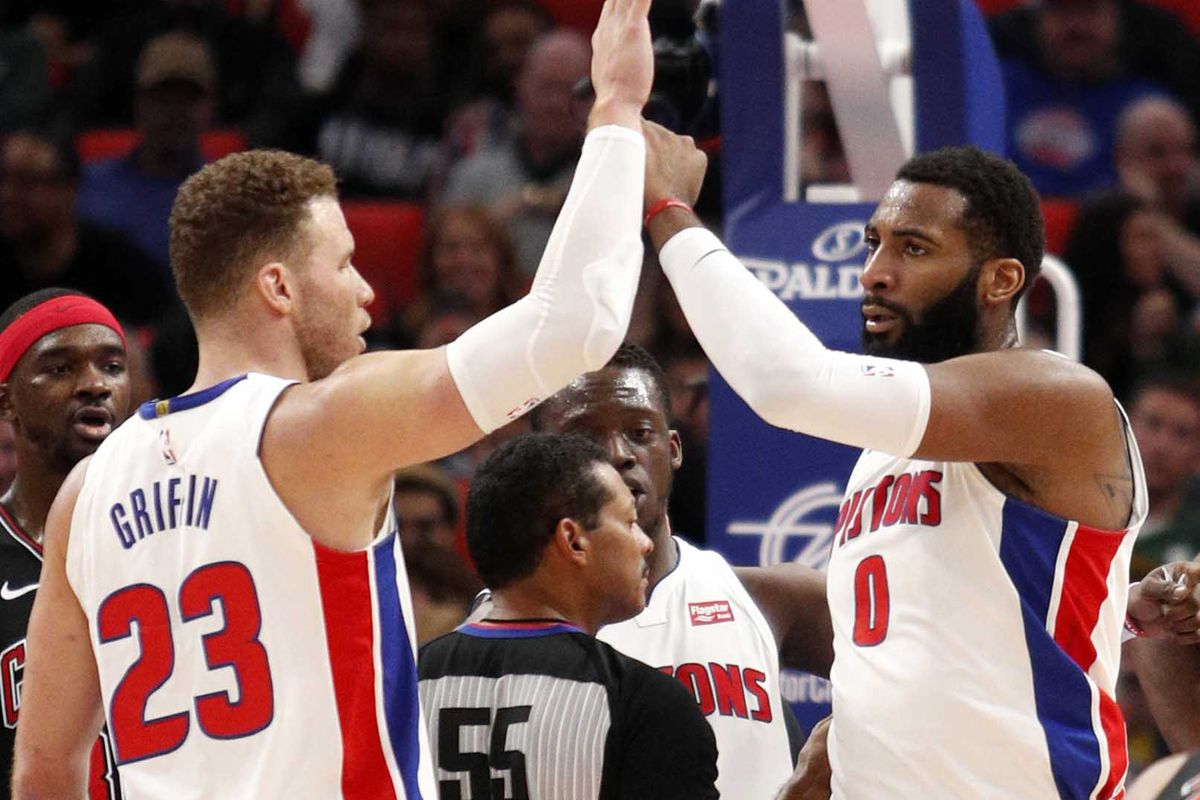 Image result for andre drummond and blake griffin 2019
