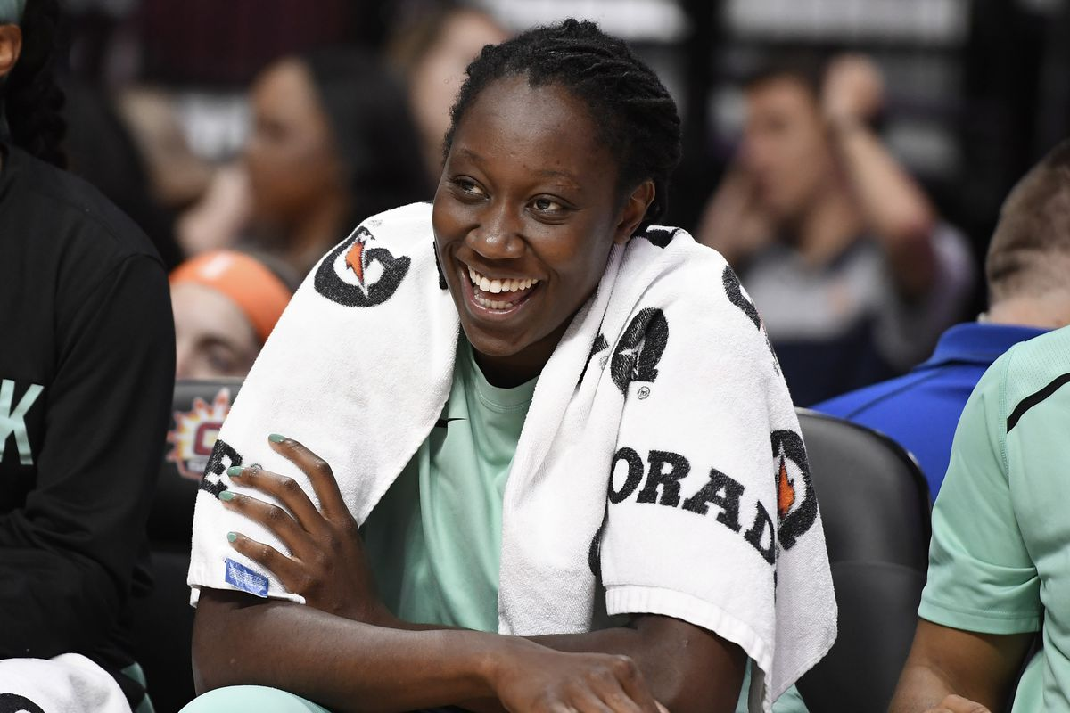 The New York Liberty have traded All-Star Tina Charles to the Washington Mystics as part of a three-team deal.