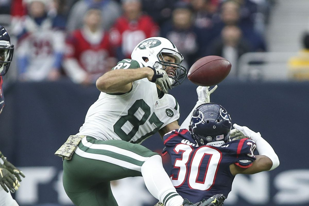 Eric Decker led the way as usual.