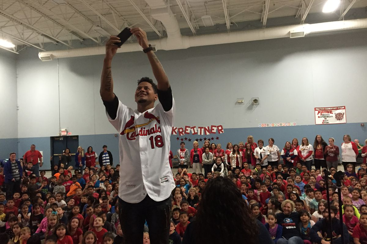 If a Carlos Martinez event doesn't include a selfie, did it really happen?