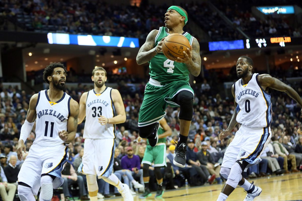 080a5636b000 FULL RECAP- Isaiah Thomas Carries Celtics Past Grizzlies in OT ...
