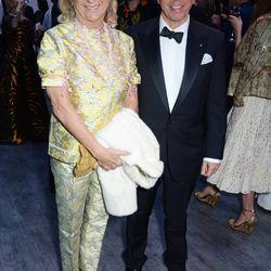 Miuccia Prada and Jonathan Newhouse