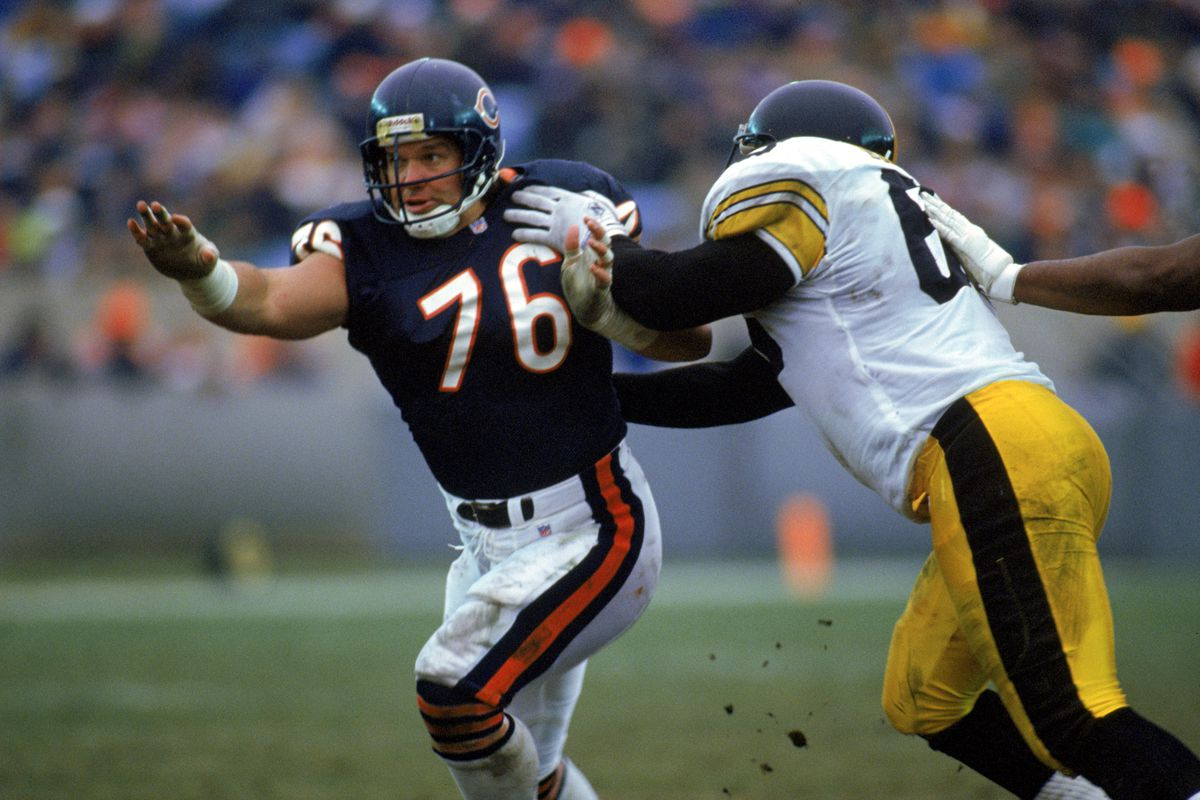 Steve McMichael was one of the first Bears eligible for Free Agency as we know it. He stayed a Bear.