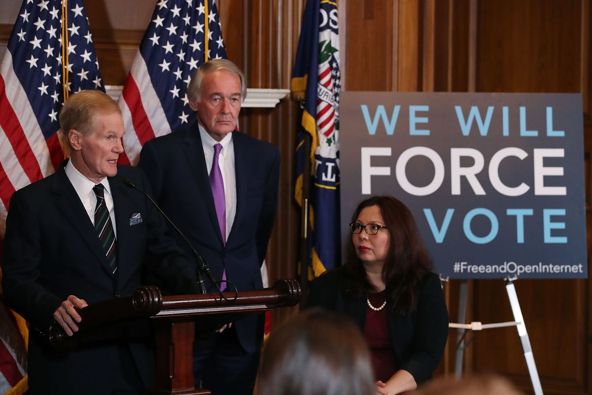 Democratic Senators Introduce A Congressional Review Act Resolution To Repeal FCC's Undoing Net Neutrality