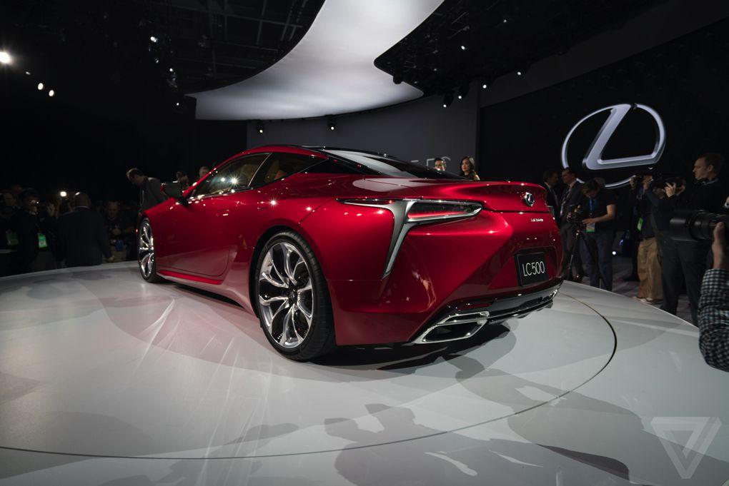 Lexus LC 500 photo from the Detroit Auto Show