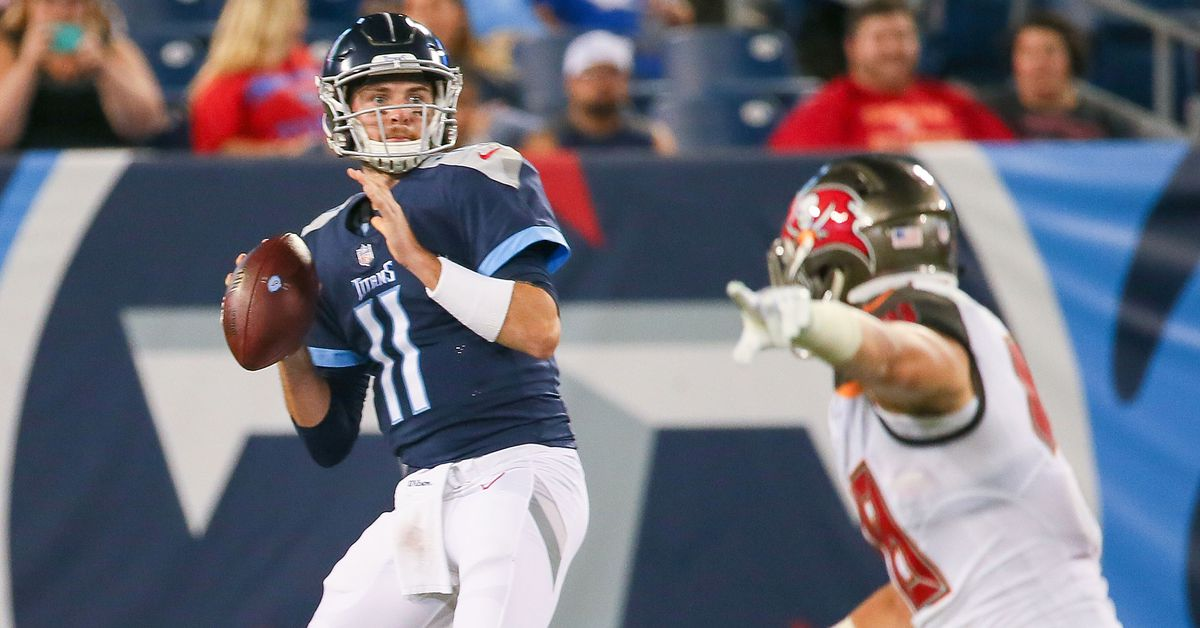 Luke Falk claimed off waivers by Dolphins and other roster moves involving  former Titans 09ba3bda2