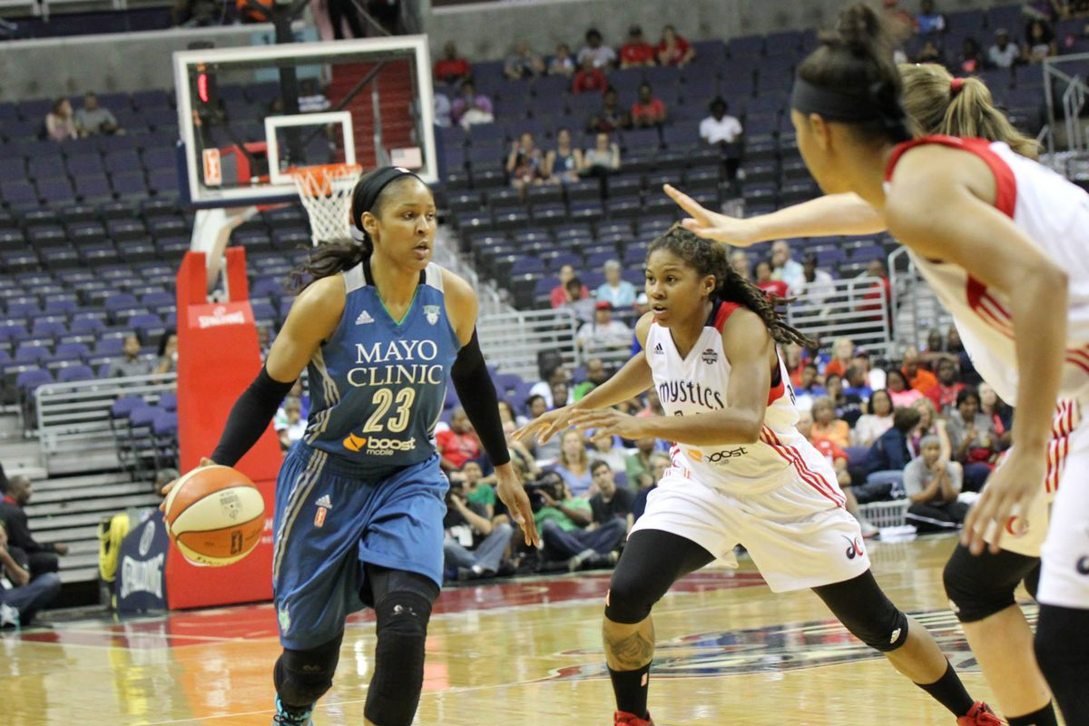 Stopping Maya Moore was one of the Mystics' highlights in their 2015 season. Now if only they faced the Lynx in the Finals...