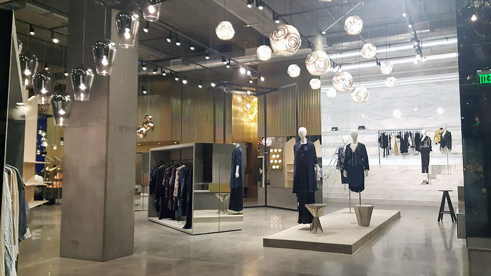 Curve and Tom Dixon's luxury lifestyle boutique at Platform in Culver City