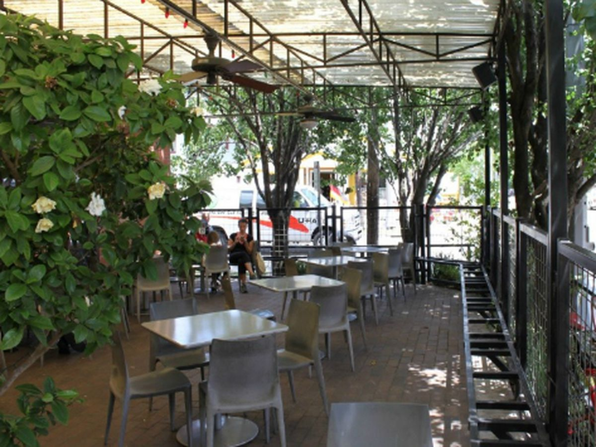 coffee shops to enjoy patio weather in houston - Patio Cafe