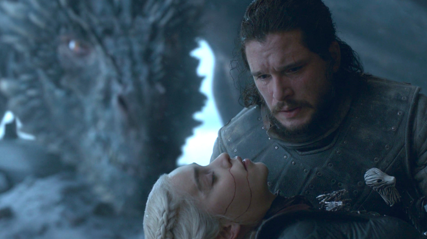 Game Of Thrones Finale Jon Snow Daenerys A Death That