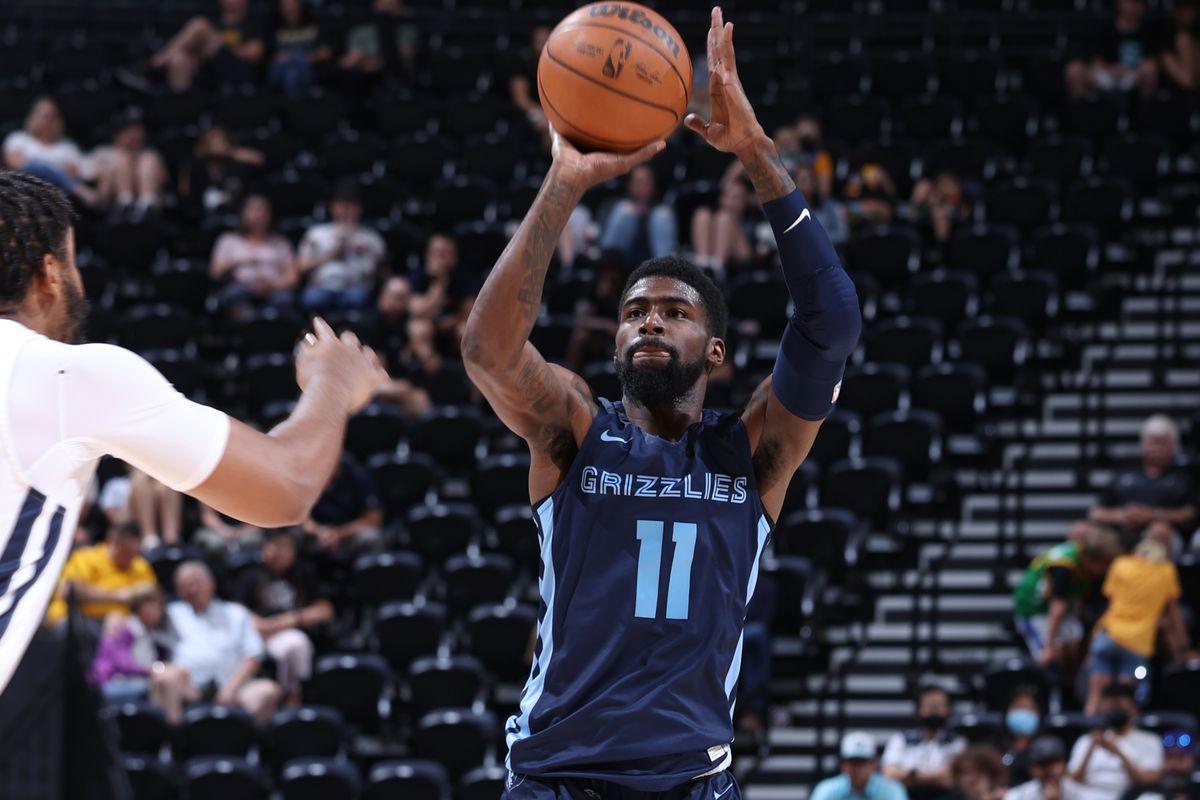 2021 Salt Lake City Summer League: Memphis Grizzlies v Utah Jazz White
