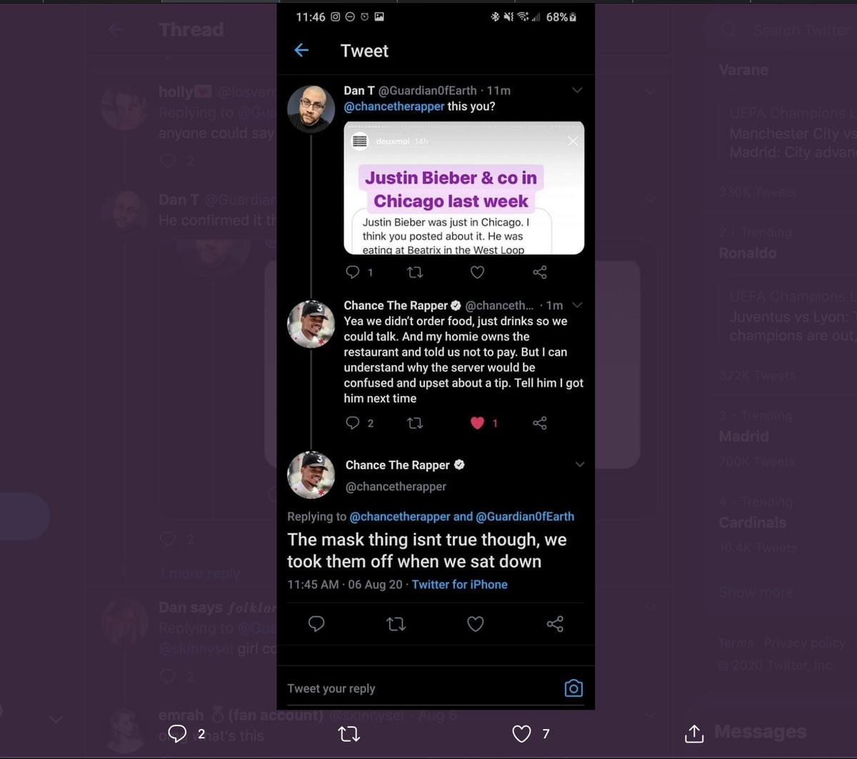 A tweet screen shot.