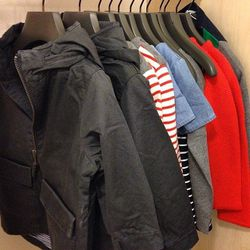 Adorable kids options include $70 jackets, $40 sweaters, $40 dresses and $40 cardigans.