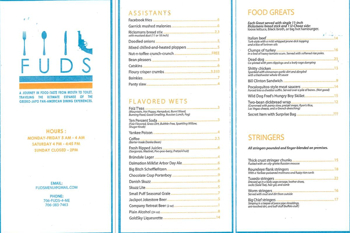 fake restaurant menu selo l ink co
