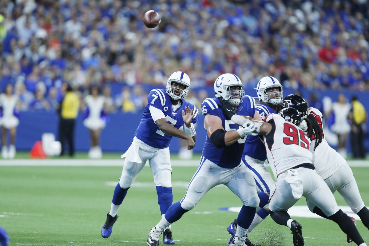 sports shoes 74e83 3eebe Jacoby Brissett is proving he's more than just the Colts ...