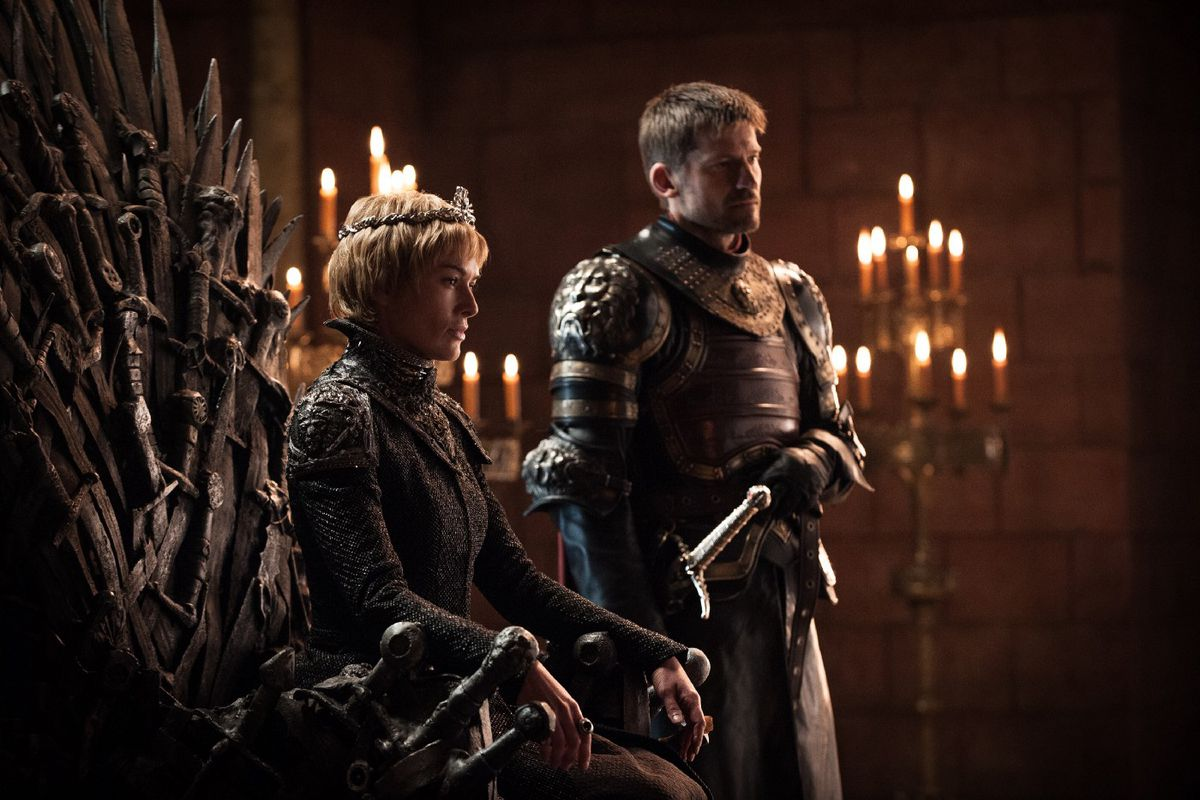 Game of Thrones season 7 photos - Cersei/Jaime