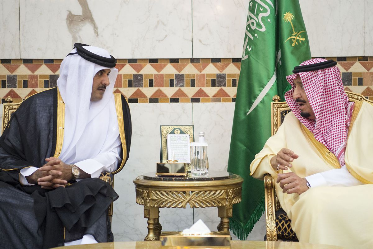 Image result for qatar and saudi arabia war relations