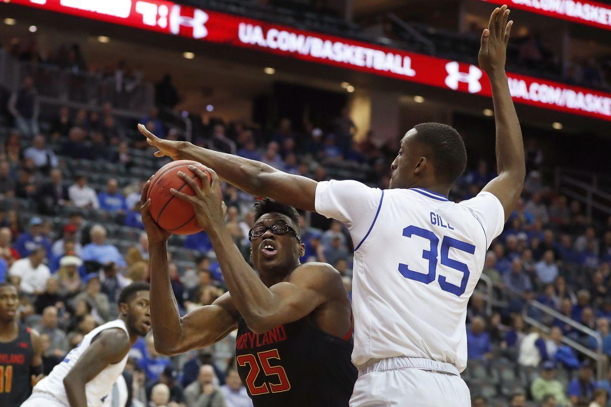 NCAA Basketball: Maryland at Seton Hall